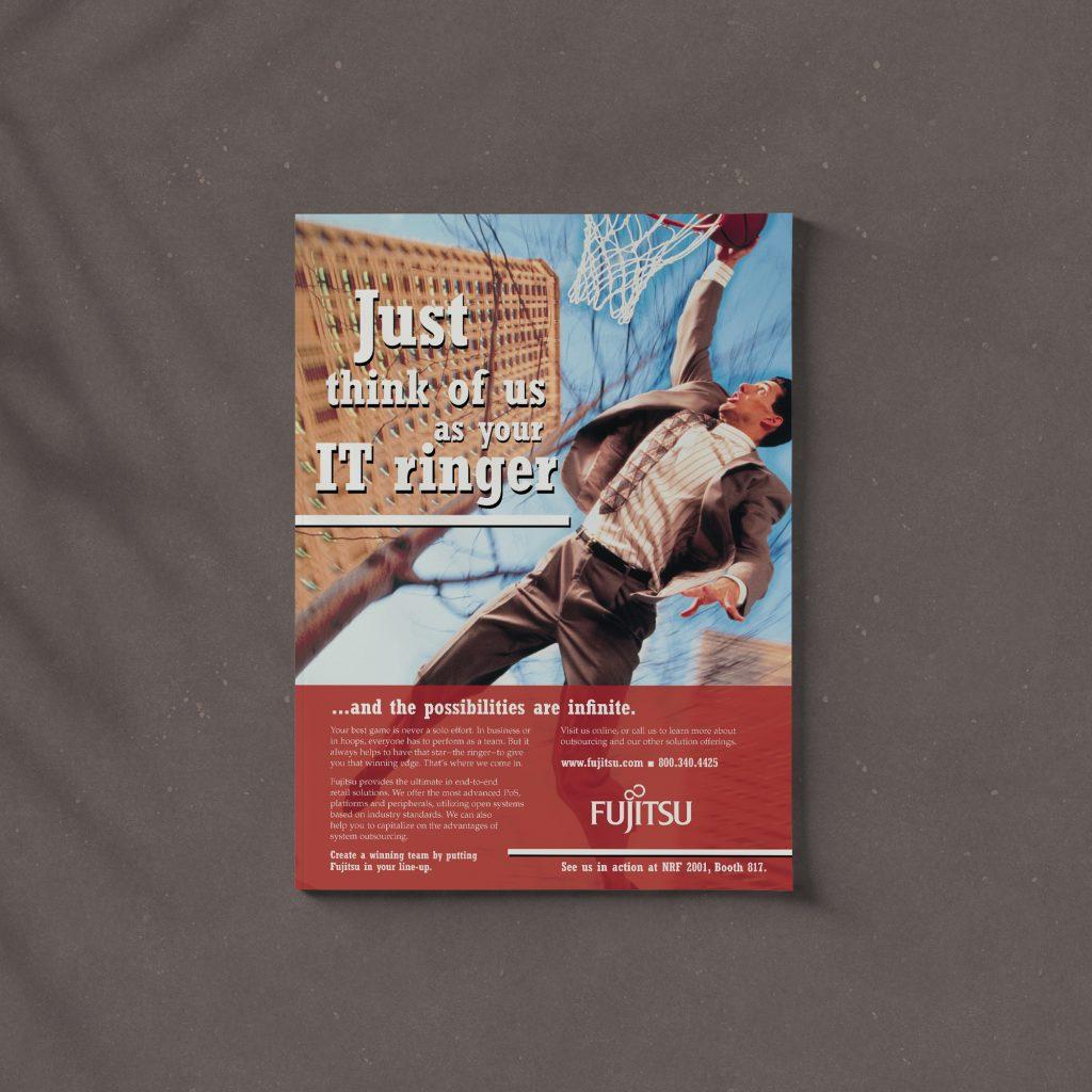 Fujitsu magazine advertisement